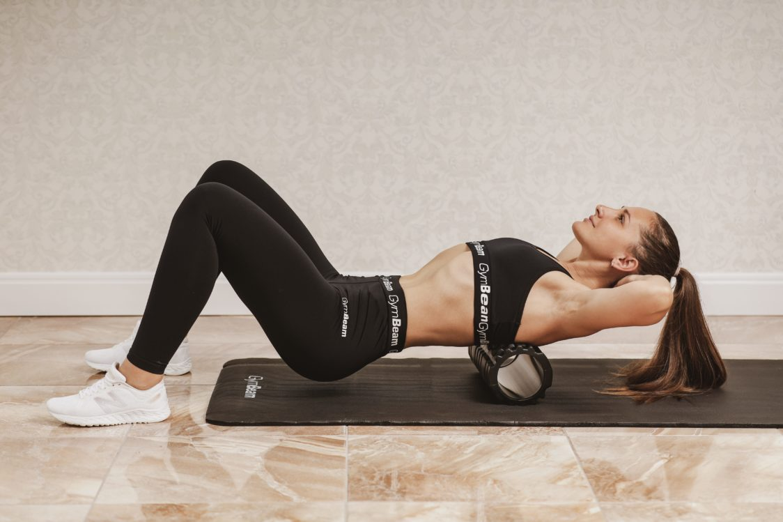 Foam roller for muscle relaxation