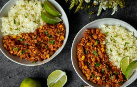 Recept - Tradičné mexické chilli con carne s ryžou