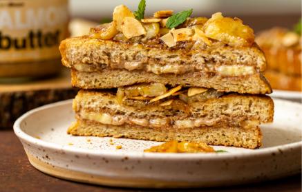 Recept - Škoricový francúzsky toast s banánom a orieškovým maslom
