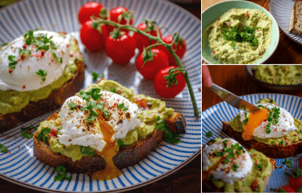 Fitness recept: Chlebík s avokádovou nátierkou a strateným vajíčkom