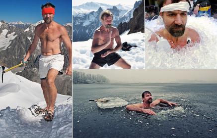 Wim Hof: Ledový muž, který učí lidi být zdravější a psychicky odolnější