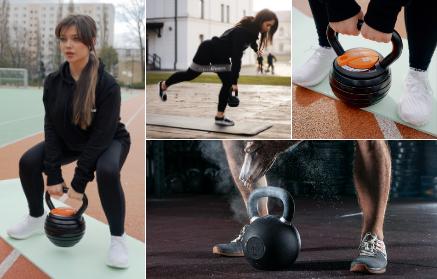 8 nejlepších cviků s kettlebellem na zadek a nohy