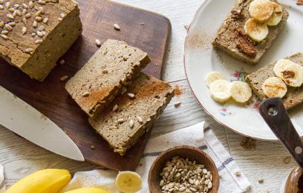 Recept - Domáci proteinový bezlepkový chlieb
