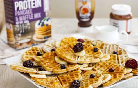 Fitness recept: Rýchle raňajkové wafle z dvoch surovín a s poriadnou dávkou bielkovín