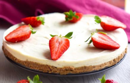 Recept - Mrazená torta s jemným kokosovým krémom a bohatou dávkou bielkovín