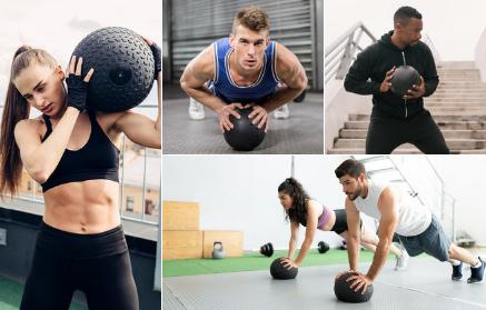 Trénink se slam ball zlepší sílu i fyzičku. Jak s ním cvičit?