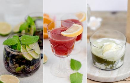 Fitness recept: Letné osviežujúce nealkoholické drinky