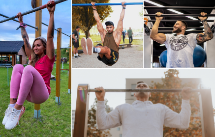 Jak cvičit na hrazdě? 10 cviků pro začátečníky i pokročilé