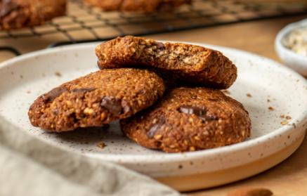 Recept - Mandľové sušienky s kúskami čokolády