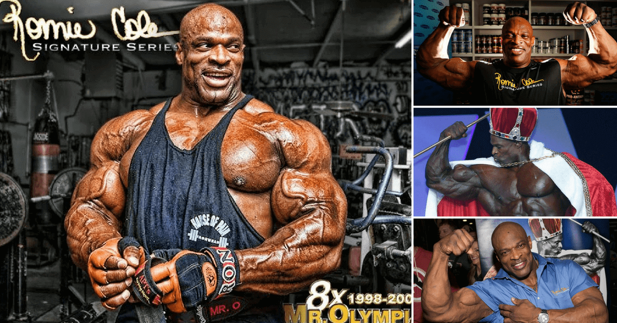 Ronnie Coleman And His Training Plan Diet And Interview Gymbeam Blog